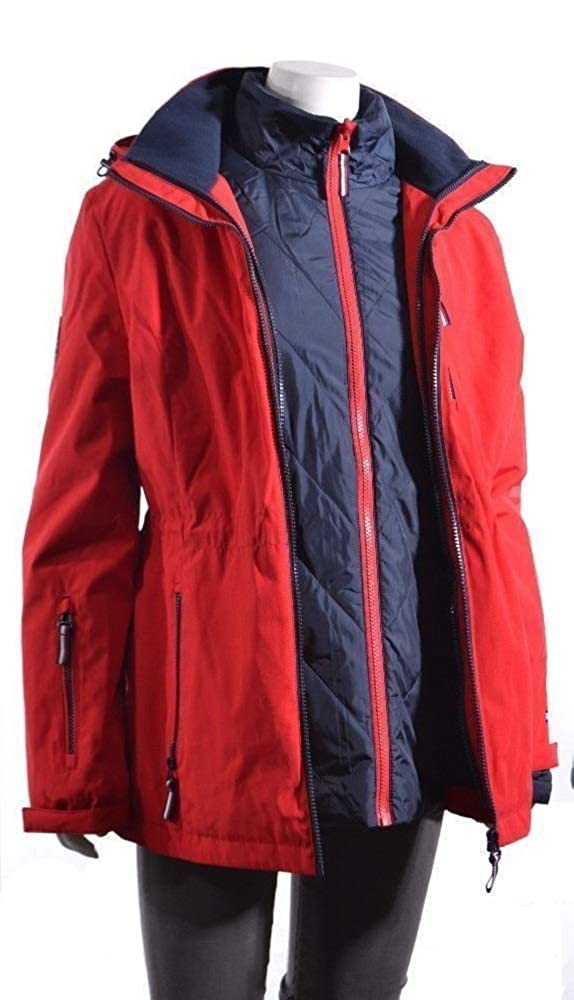 fast delivery hot sale cute cheap Tommy Hilfiger 3-In-1 Systems Jacket For Women - blog ...