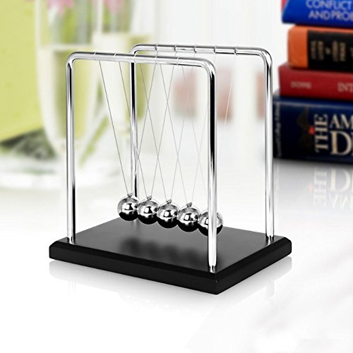 Toys for Desk, Newtons Cradle Magnetic Balls for Adults Stress Relief, Cool Fun Office Games Desktop Accessories,Calm Down Fidgets Kit Avoid Anxiety, Small Sensory Kids Toy, Gifts for Boys With Autism by COFFLED