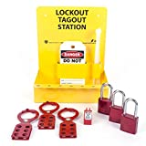 ZING 2723 RecycLockout Mini Lockout Station with Aluminum Padlocks - Stocked
