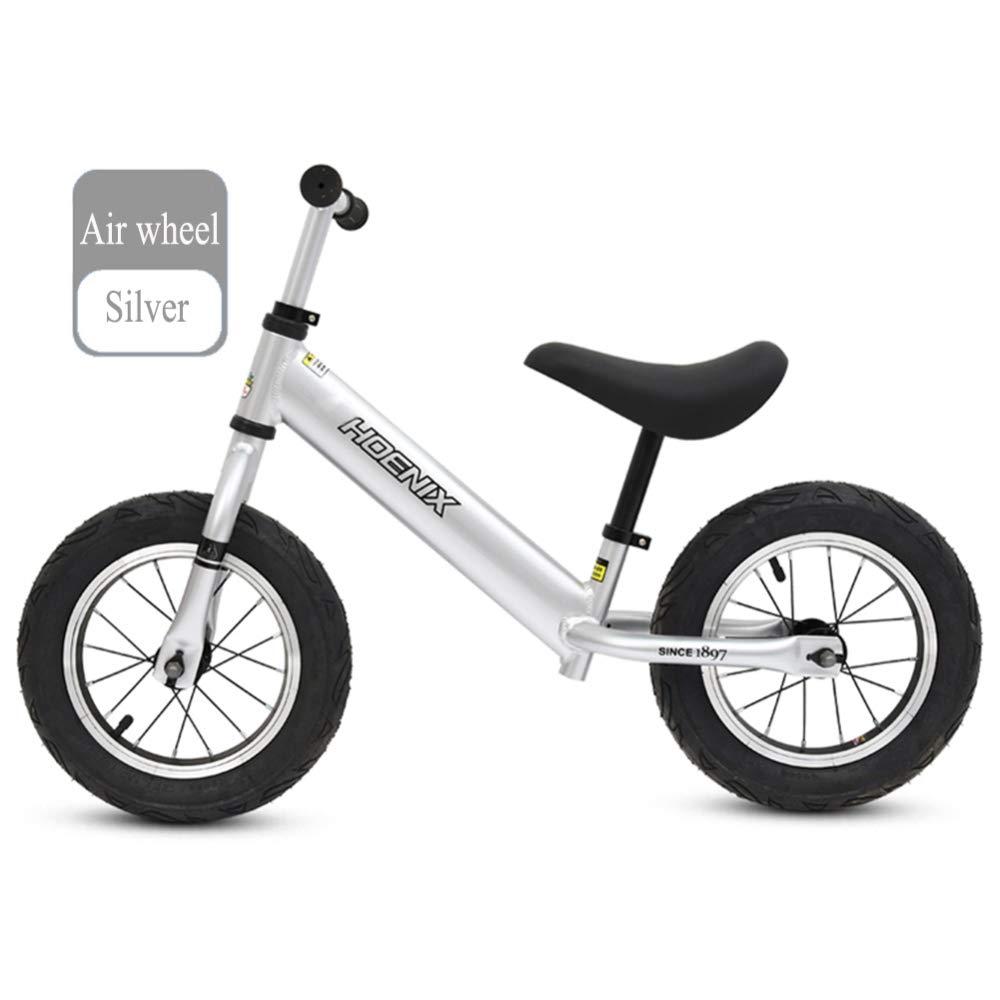 YSH Bicicleta De Equilibrio   Rueda Neumática   110.2 Libras De Capacidad   Asiento Y Manillar Regulables   Edades 2 A 6 Años,A