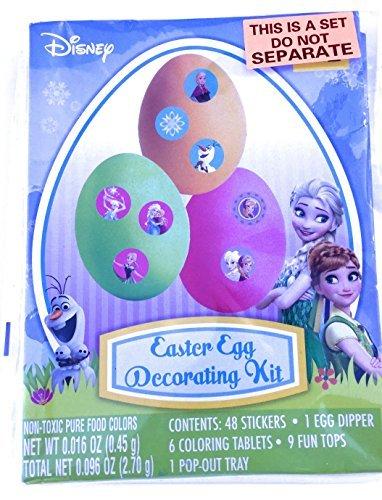 Disney Frozen Easter Egg Decorating