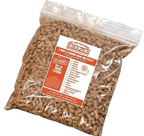 A-MAZE-N - 100% Oak BBQ Pellets - Smoker Pellets - Grilling - 5 lb