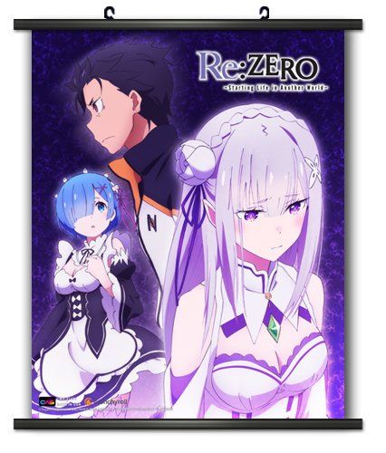CWS Media Group CWS-21470 RE: Zero 08 Wall Scroll Poster