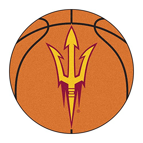 Arizona State University Basketball Area Rug
