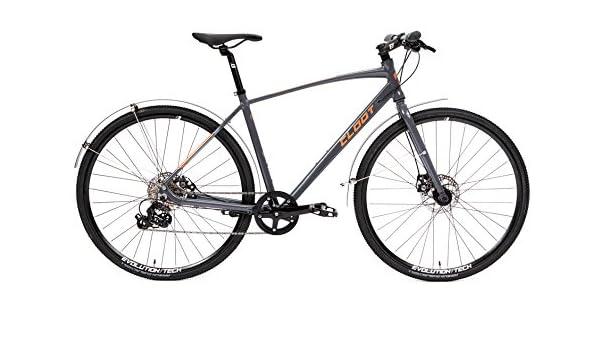 CLOOT Bicicleta Urbana o hibrida Tourning 700x Gris con Frenos ...