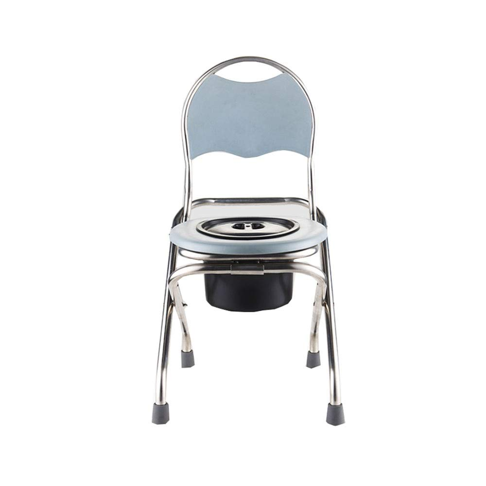 XSJZ matongdeng 便座、移動式便座の椅子の折り畳み式の大人の世帯のスクワットのトイレ便 便座とフレーム (色 : D) B07S8QQL2W D