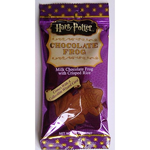 Harry Potter Milk Chocolate Frog with Collectible Wizard Trading Card - 6 (Harry Potter Chocolate Frog)