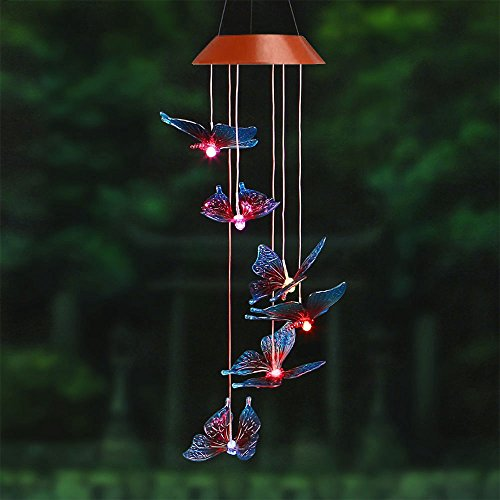 Outdoor Solar Wind Chime Light in Florida - 2