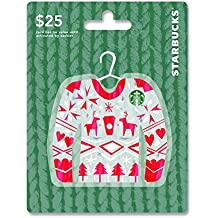 Starbucks Holiday Gift Card $25