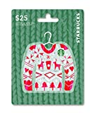 #10: Starbucks Holiday Gift Card $25