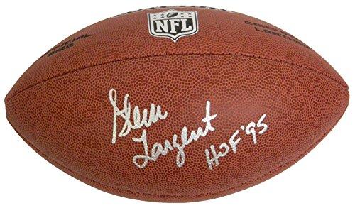 Football Signed Wilson Nfl - Steve Largent Signed Wilson Limited NFL Full Size Football w/HOF 95
