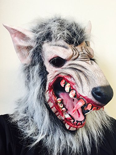 Rubber Johnnies Scary Werewolf Man (Michael Jackson Werewolf Costume)
