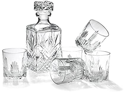 Bormioli Rocco Selecta 7-Piece Whiskey Gift Set 226041S1A021990