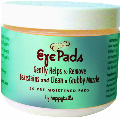 happytails Canine Spa Line Eye Pads, My Pet Supplies