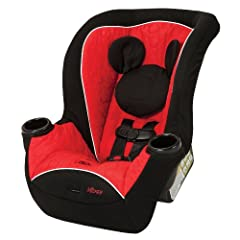 Travel is more fun with Disney along for the ride! The Disney Baby Apt 40RF Convertible Car Seat gives your child a comfy rear-facing ride...all the way up to 40 pounds! The Apt 40RF convertible car seat allows babies to remain in a safer rea...