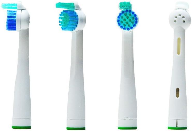 4pcs cepillo de dientes eléctrico (1 x 4) hofoo® Cabezales de ...