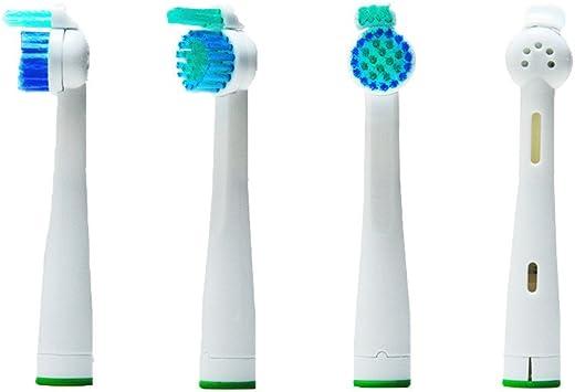 4pcs cepillo de dientes eléctrico (1 x 4) hofoo® Cabezales de repuesto para cepillos eléctricos Philips SoniCare SensiFlex. HX2014 Totalmente Compatible con los siguientes modelos: todos los modelos Sensiflex de Philips: Amazon.es: