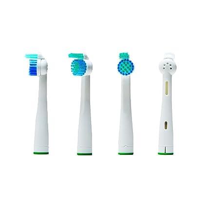 Oral-Q 8(2x4) cabezales de recambio para cepillo de dientes eléctrico Philips