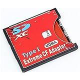 手持ちのSDカードをCFカードTypeIに変換 N/B EXTREME CFアダプター WiFi SD対応 UDMA対応 EXCFAD-SD