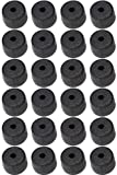 Pine Ridge Archery 100 pack Nitro Buttons Black #02702