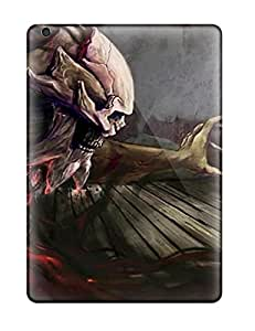 AndreaLBuhl Scratch-free Phone Case For Ipad Air- Retail Packaging - Demon Attacking A Woman