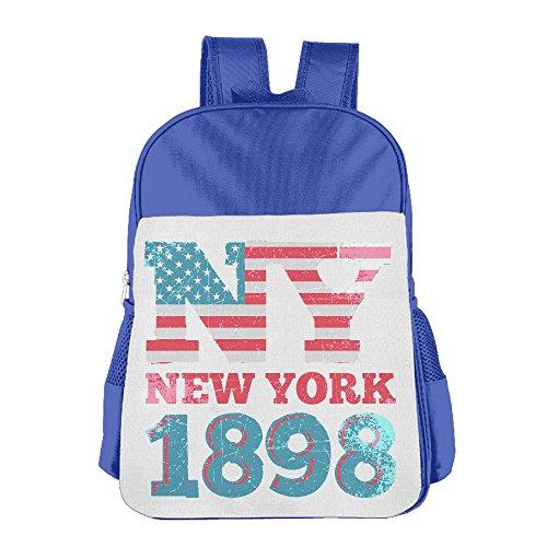 GABRIELA ROSALES New York 1898 Elegant Backpack Bag Sport Shoulder Kids' Schoolbag Bags - Plaza York New Kings