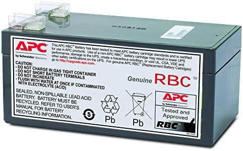 APC SU420NET Smart-UPS 420 Compatible Replacement Battery by UPSBatteryCenter