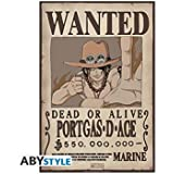 AbyStyle - Poster One Piece - Wanted Ace 52x35cm - 3700936101334