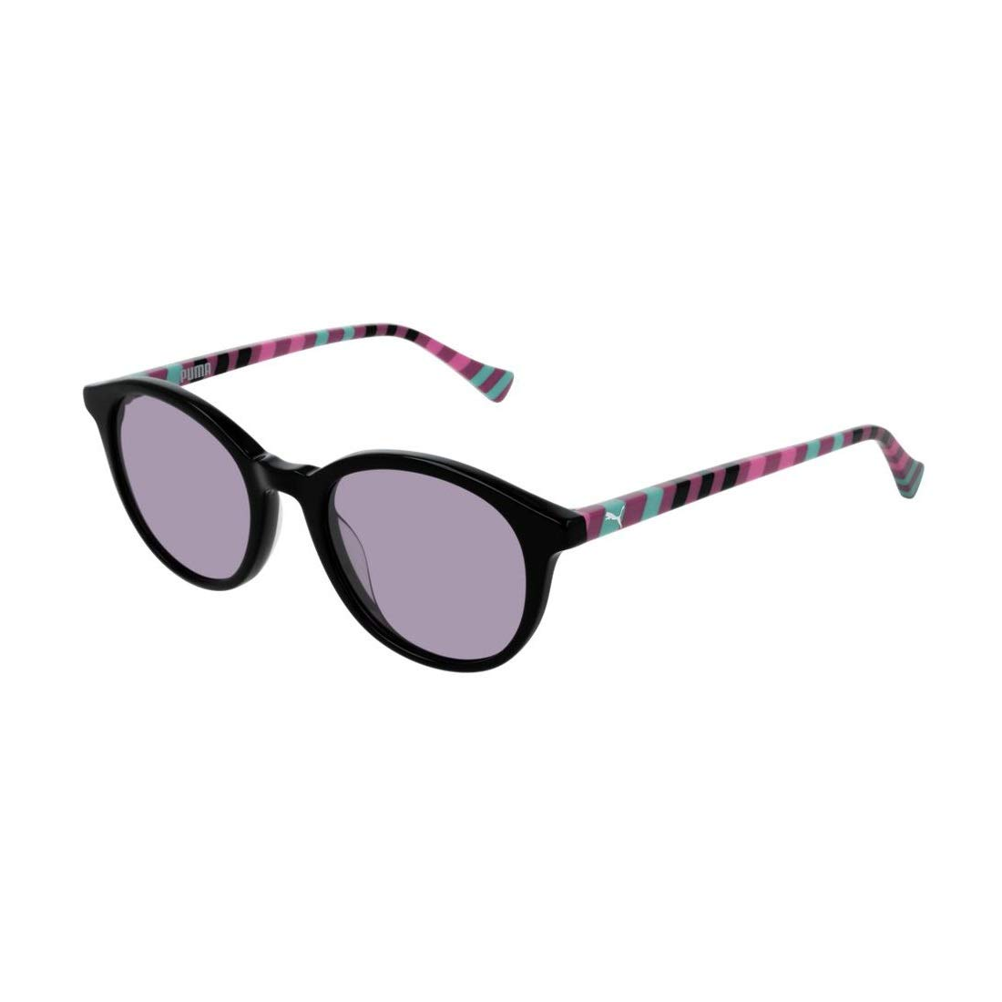 Puma Junior Gafas de sol, Black/Violet/Multicolor, 47.0 para ...