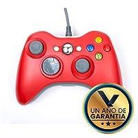 Control Alámbrico Compatible XBOX 360 Color Rojo