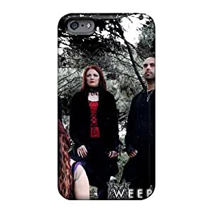Shock-Absorbing Hard Phone Cover For Iphone 6plus With Unique Design Fashion Lullacry Band Image LauraAdamicska