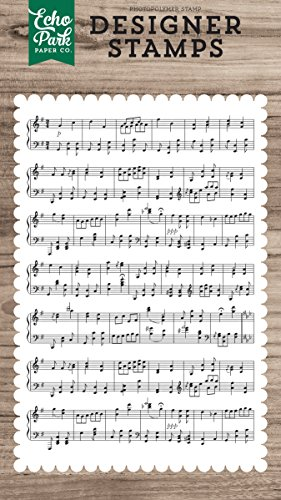 Echo Park Paper Company Sheet Music Stamp