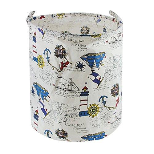 Wäschekorb,Faltbarer Baumwolle Wäschesammler Wäschetruhe Wäschesack Wäschesack Wäschebeutel Canvas Laundry