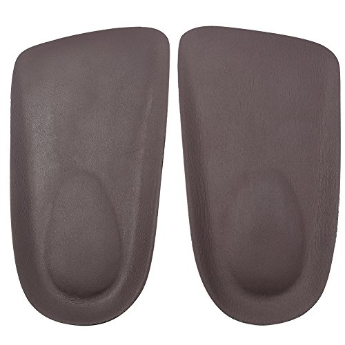 footinsole Half Elevator Insoles or Shoe Lifts – Increase ½ Inch Height Instantly - Leather (Queen Of Hearts Shoes)