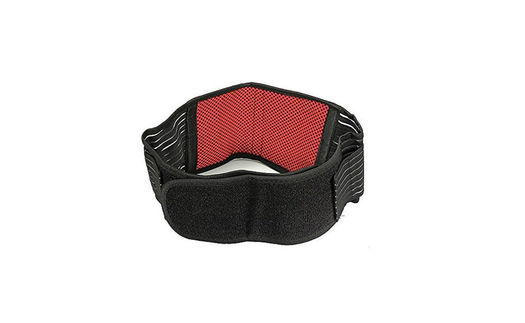 PU Health Pure Acoustics Infrared Therapy Dual Strap Adjustable Self-Warming Waist Belt