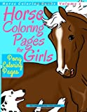 Horse Coloring Pages for Girls - Pony Coloring Pages, Richard Hargreaves, 1494949482