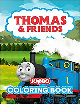 Thomas And Friends Jumbo Coloring Book Great Coloring Book