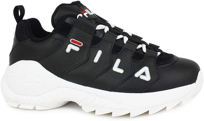 Zapatos Zapatillas de Mujer FILA Countdown Low WMN en Cuero Negro 1010751-25Y: Amazon.es: Zapatos y complementos
