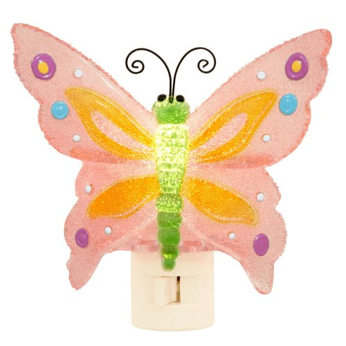 Night Light - PINK BUTTERFLY