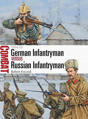 Download German Infantryman vs Russian Infantryman: 1914–15 (Combat) pdf