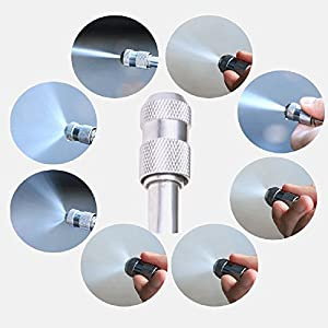 Your Supermart Car Cleaning Foam Gun 48cm Multifunction Stainless Steel High Pressure Car Wash Spray Gun Hose Wand