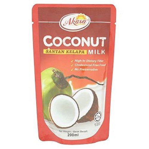 Akasa Coconut Milk 200ml (628MART) (12 Packs) by Akasa (Image #1)