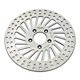 TARAZON 11 1/2'' Front Left Super Spoke Brake Rotor for Harley Davidson Softail Heritage Classic Custom Standard Fat boy Deluxe Night Train Deuce 2000-2014