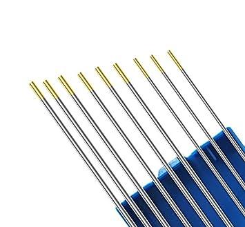Kattex - Set de electrodos WIG dorados (3 unidades de ...