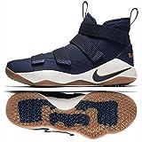 NIKE Lebron Soldier Xi Men's Basketball Shoes (11, Midnight Navy/Metallic Gold)