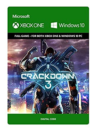 Crackdown 3: Standard Edition - Xbox One/Windows 10 Digital Code