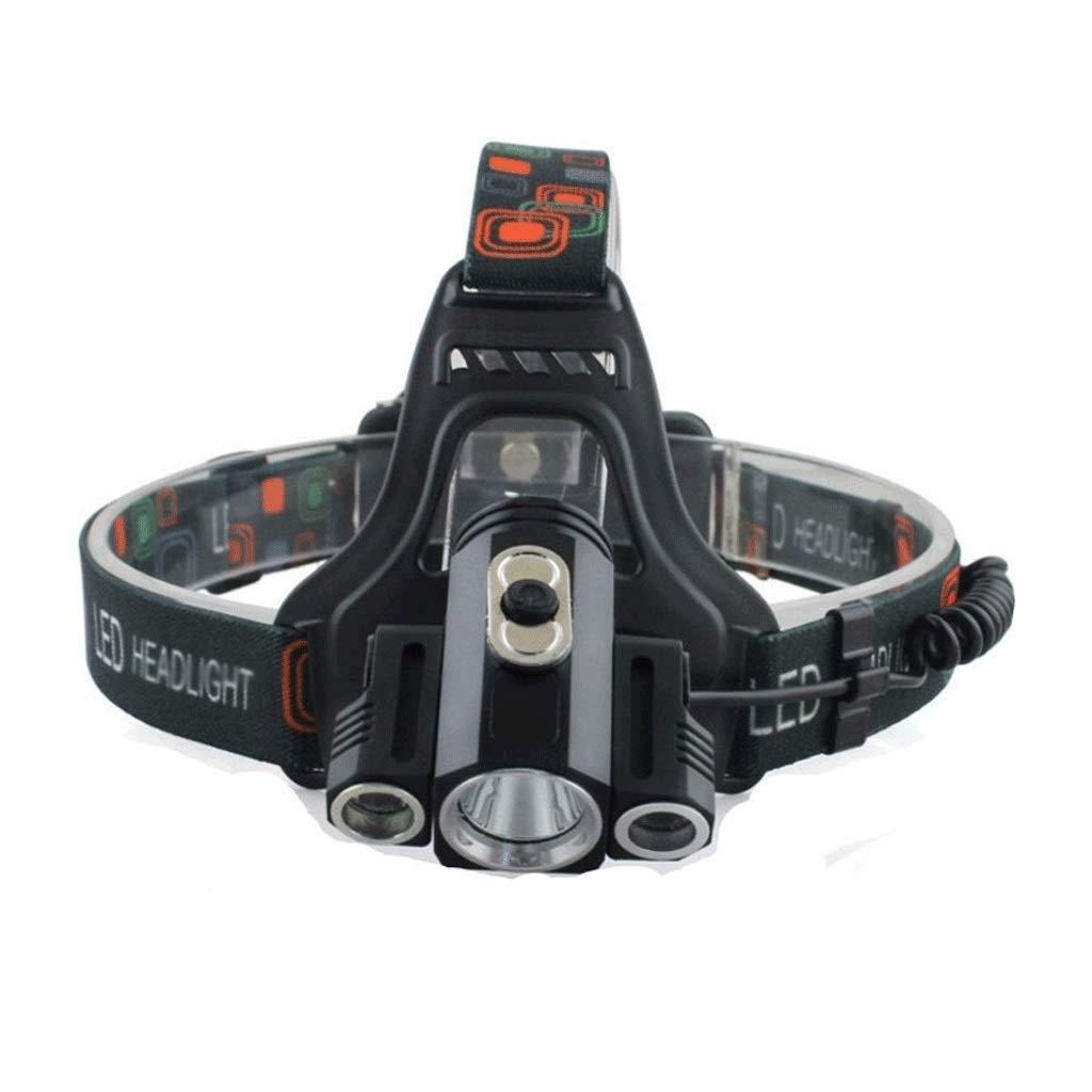 QAZWS LED Headlamp Flashlight - Great for Camping, Hiking, Dog Walking, Kids, One of The Lightest White Headlight, Water & Shock