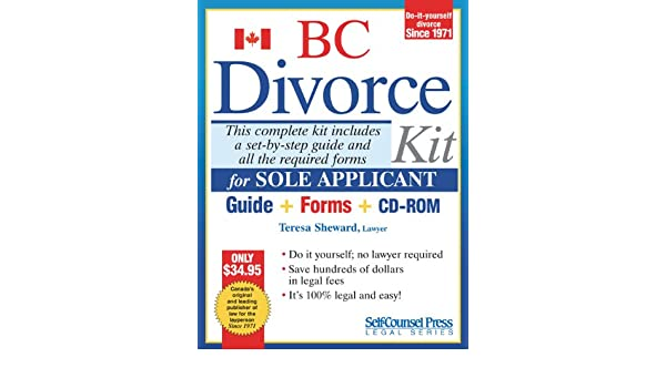 Divorce kit for bc sole teresa sheward 9781551806297 books divorce kit for bc sole teresa sheward 9781551806297 books amazon solutioingenieria Choice Image