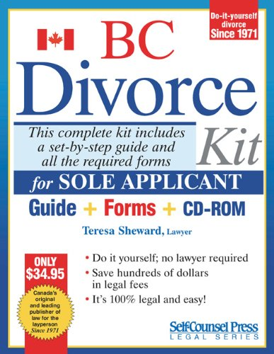 Divorce kit for bc sole teresa sheward 9781551806297 books divorce kit for bc sole teresa sheward 9781551806297 books amazon solutioingenieria Gallery