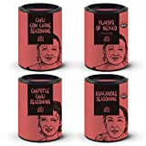 #10: Just Spices Mexican Flavors Seasoning Gift Set | Box of 4 All-Natural Spice Blends | The Perfect Present for Cooking Enthusiasts | No MSG, No Artificial Preservatives